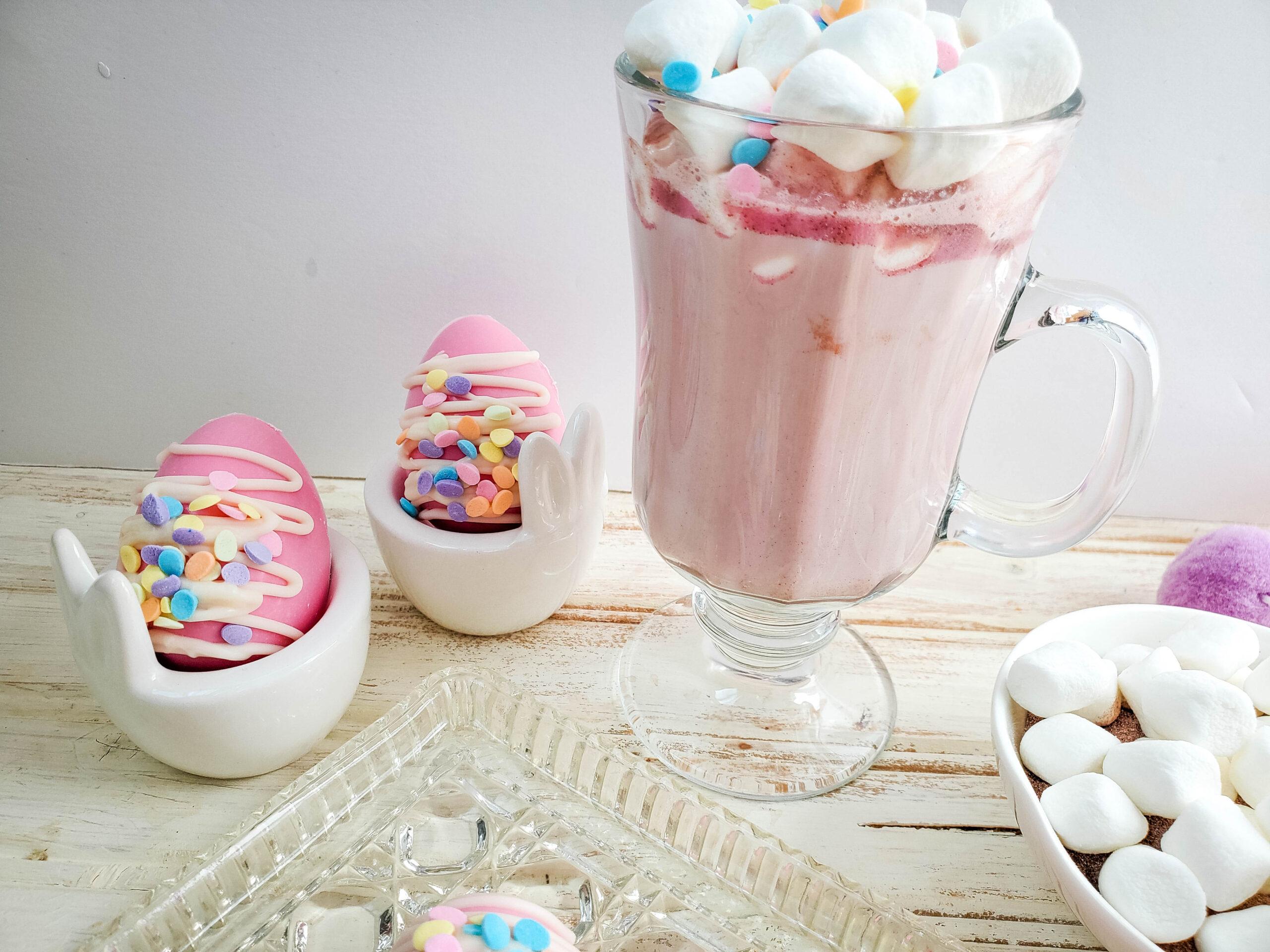 Easter Egg Hot Cocoa Bombs