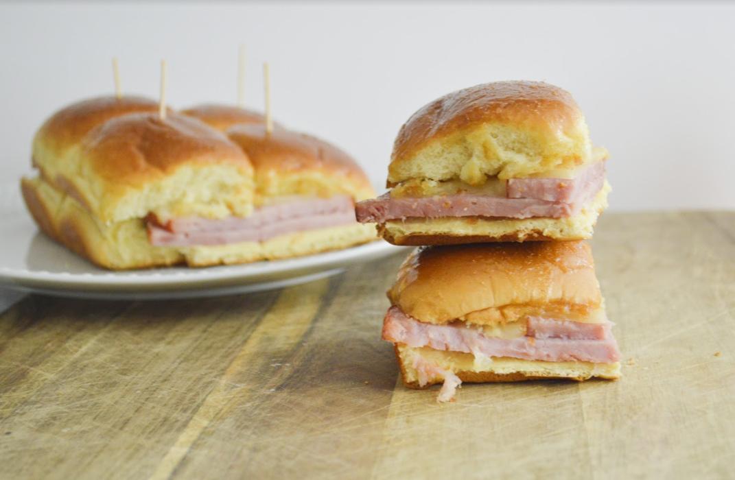 Oven-Baked Ham & Cheese Sliders
