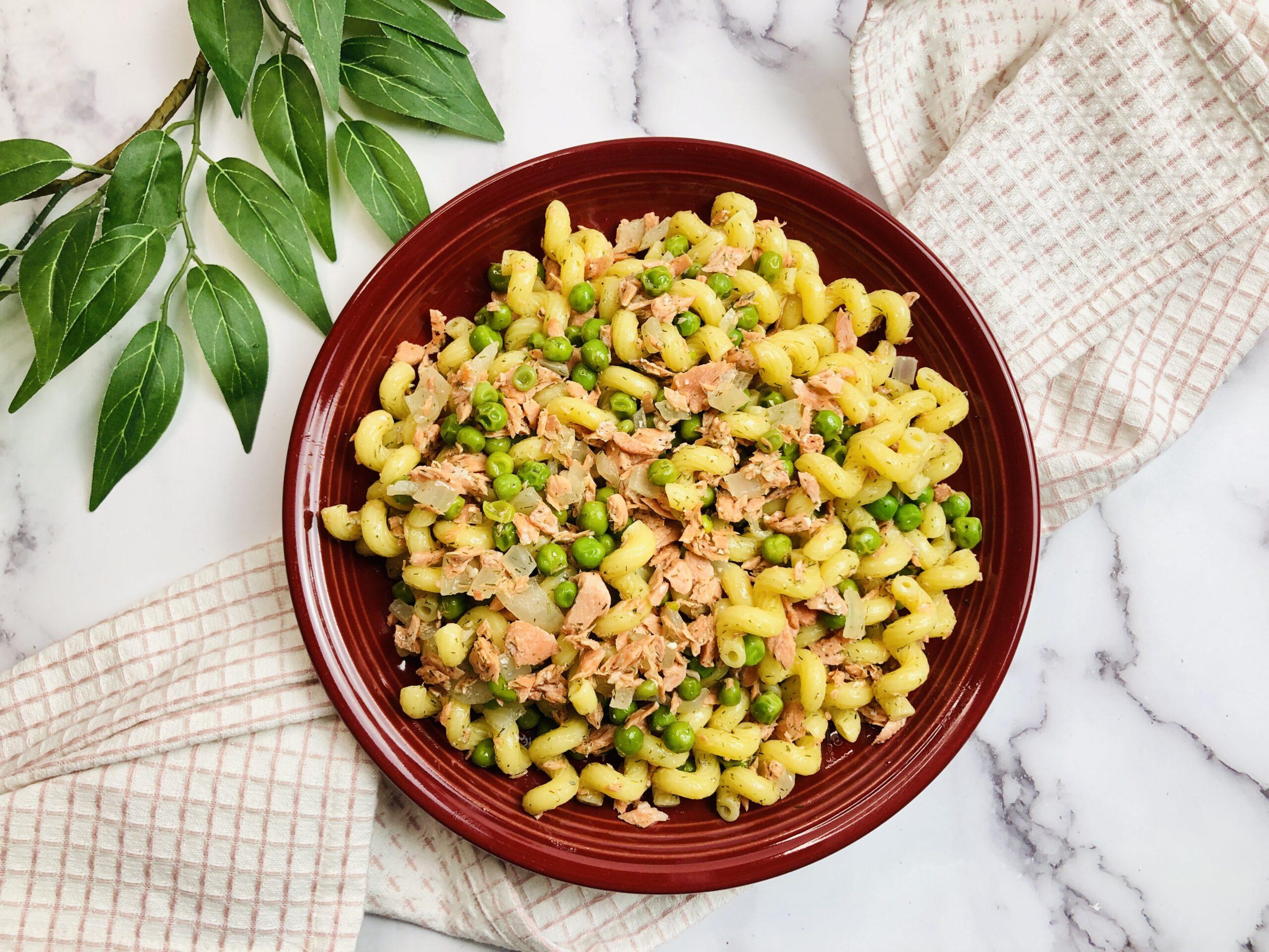 Salmon Pasta without Cream