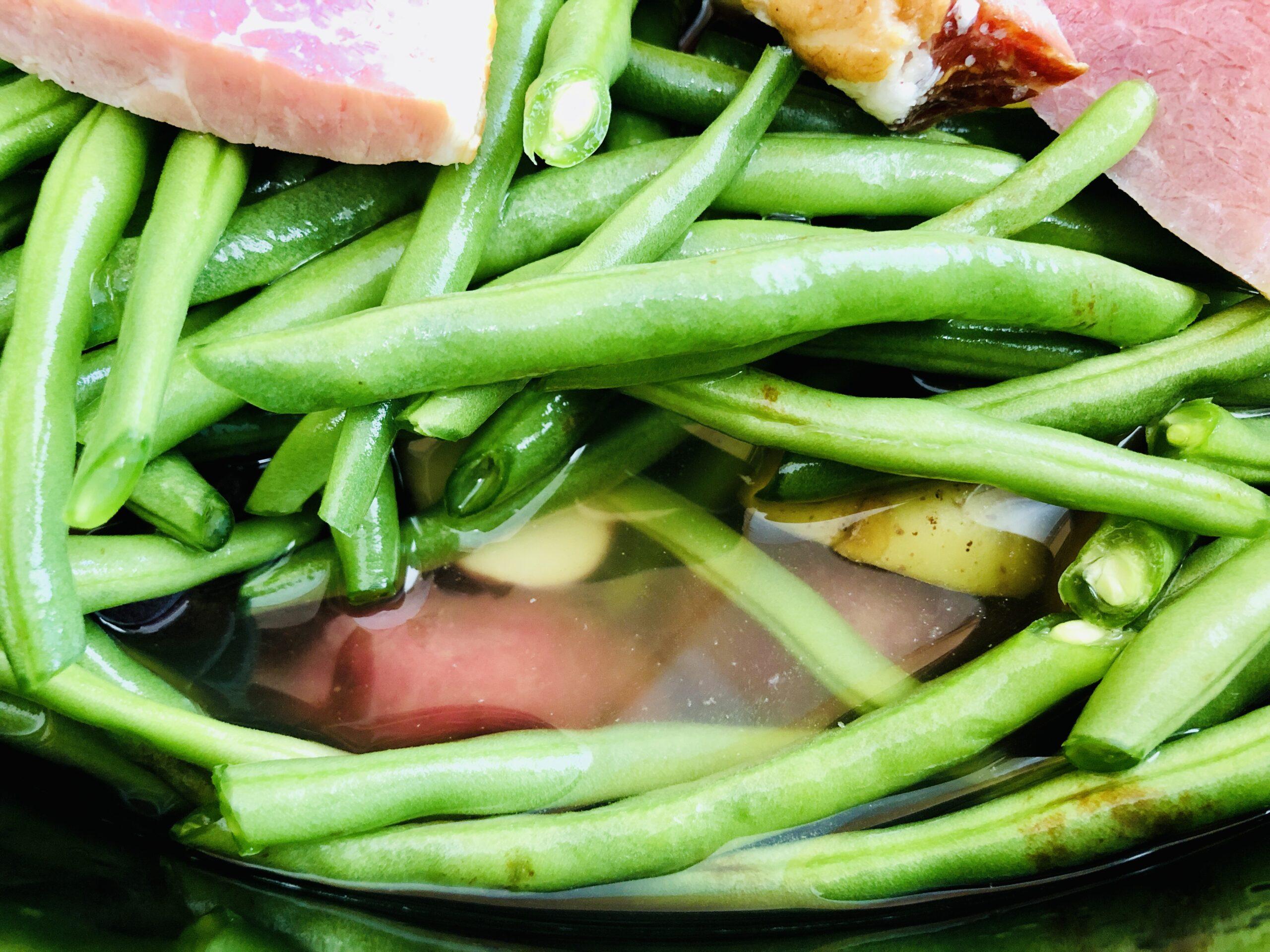 Slow Cooker Potatoes & Green Beans